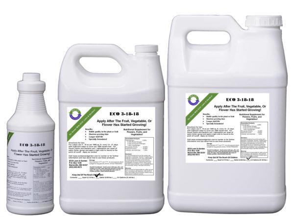 3-18-18 NPK Liquid Fertilizer for vegetable gardens and flowers