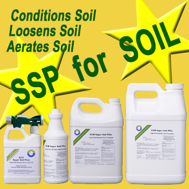 SSP Soil Amendment soil loosener and aerator.