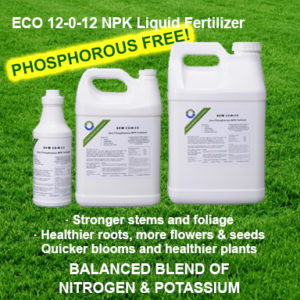 ECO 12-0-12 NPK Phosphorous Free Liquid Fertilizer