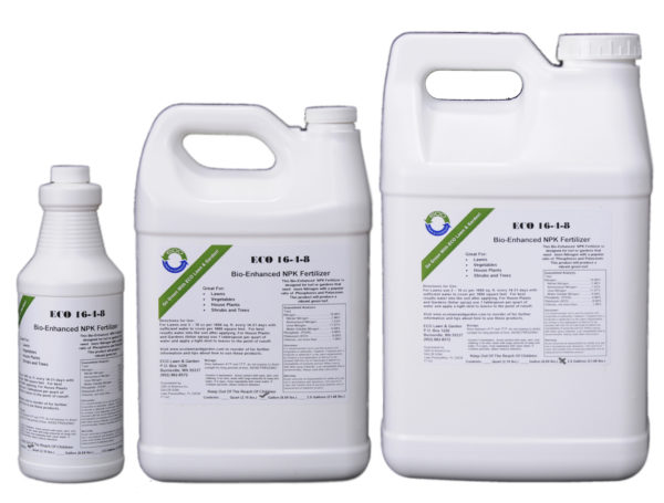 16-4-8 npk liquid fertilizer with bios natural and organic ingredients