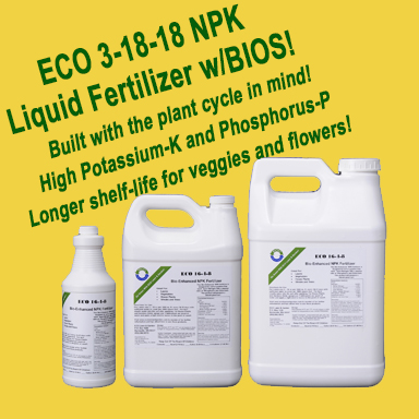 3-18-18 NPK Liquid Fertilizer for vegetable gardens and flowers