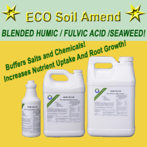 ECO Soil Amend Humic Acid and Seaweed