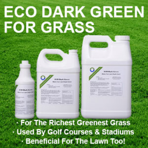 ECO Dark Green Iron For Greener Grass