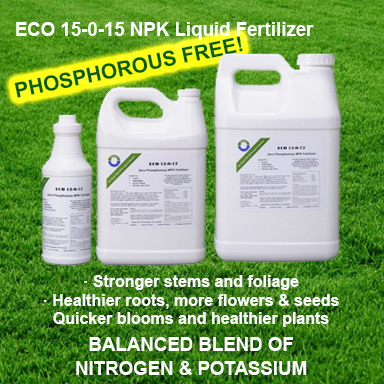15 0 15 NPK Liquid Natural Fertilizer zero phosphorous